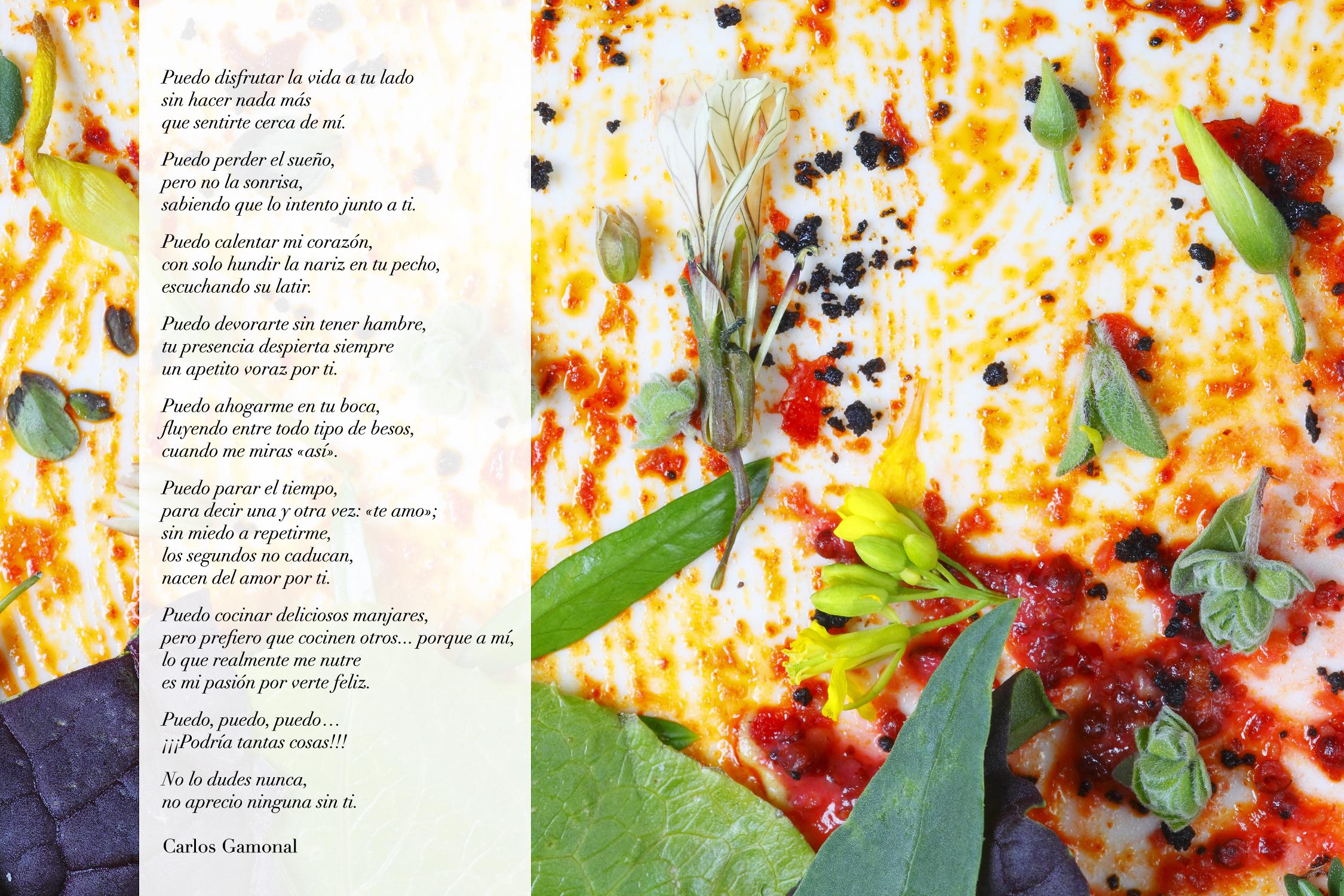 Poema «Puedo» de Carlos Gamonal © Jordi Verdés Padrón