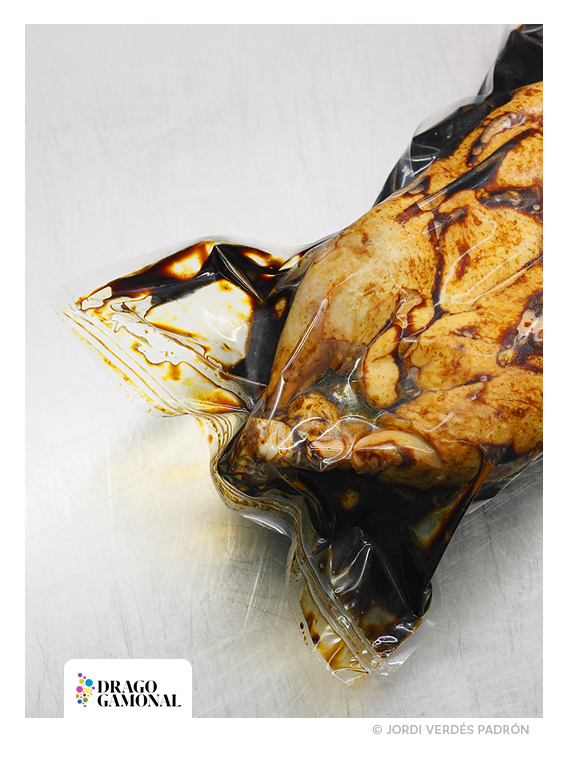 Pato en bolsa al vacío © Jordi Verdés Padrón